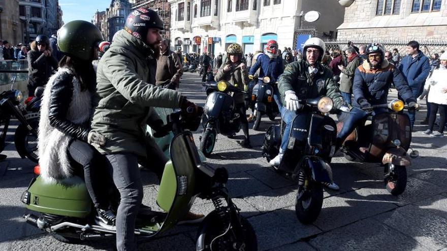 """Las motos y el 'mod' más leonés de Los Modernos triunfan en """"Purple Weekend"""""""