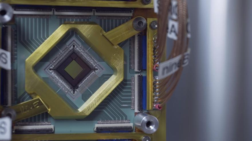 El procesador cuántico de D-Wave