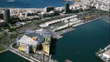 Simulación del futuro acuario de Las Palmas de Gran Canaria cedida por Loro Parque a Europa Press.
