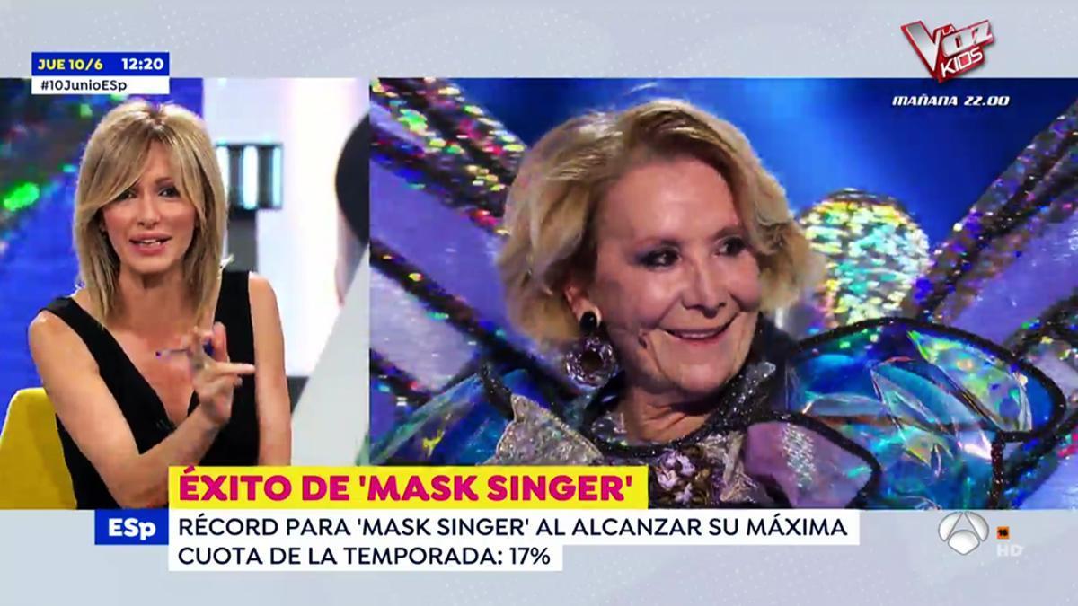 Susanna Griso habla de Esperanza Aguirre en 'Espejo Público'