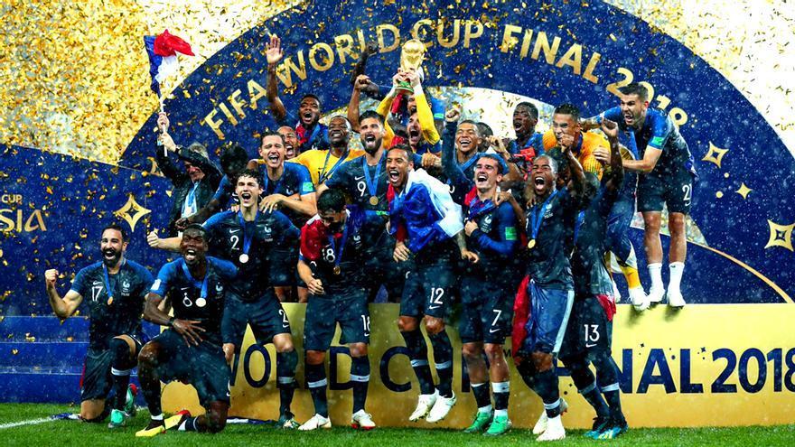 Francia, campeona del Mundial de Rusia 2018