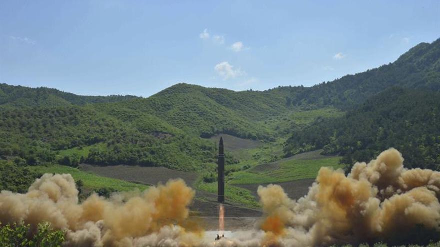 EE.UU. confirma que el misil lanzado por Corea del Norte era intercontinental
