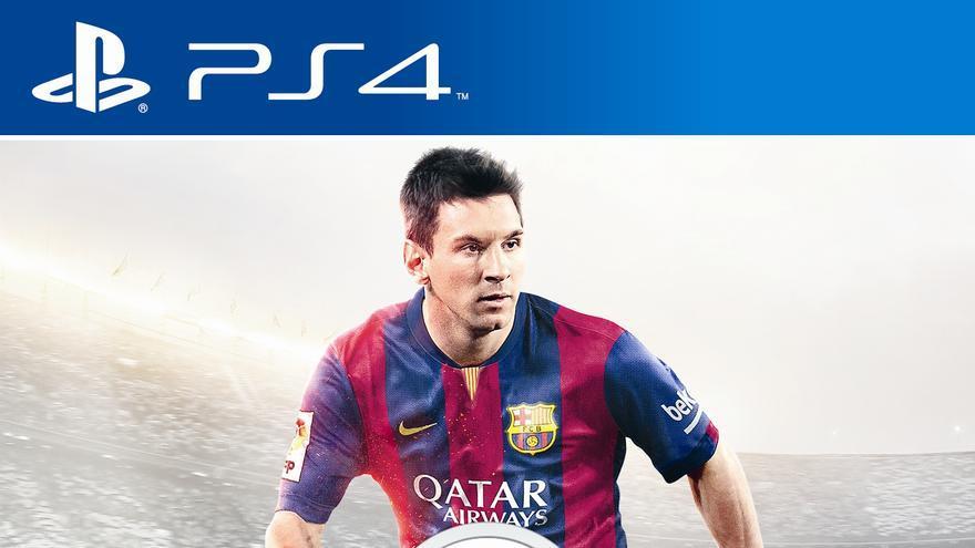 FIFA 15 Portada Messi