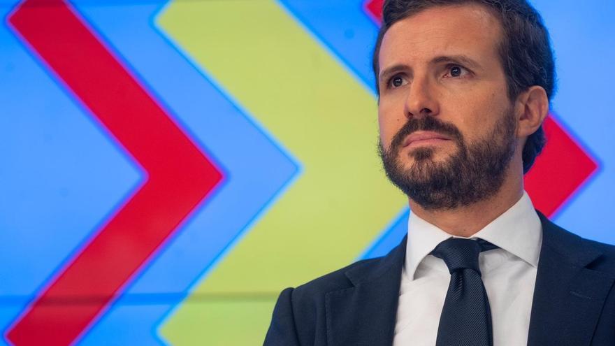 """Casado plantea a 'barones' del PSOE que se rebelen ante pacto PSOE-Bildu: """"Por menos hicieron dimitir a Sánchez"""""""