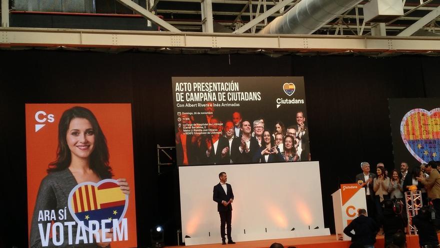 Ciutadans es el partido que más gastará en estas elecciones, con 2,1 millones presupuestados