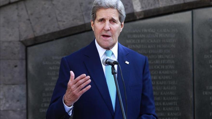 """Kerry critica la """"falta de compromiso"""" de los líderes sursudaneses con la paz"""