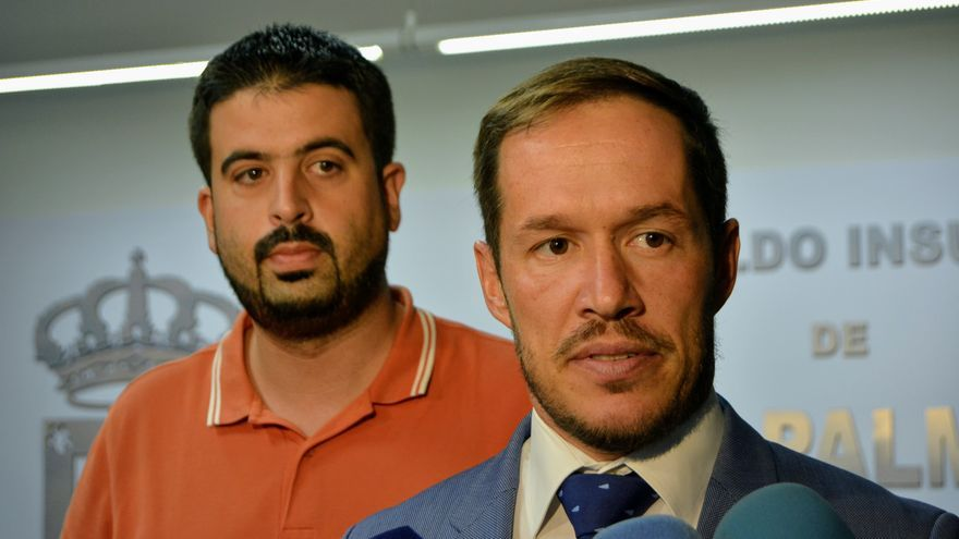 Mariano Hernández y Borja Perdomo.
