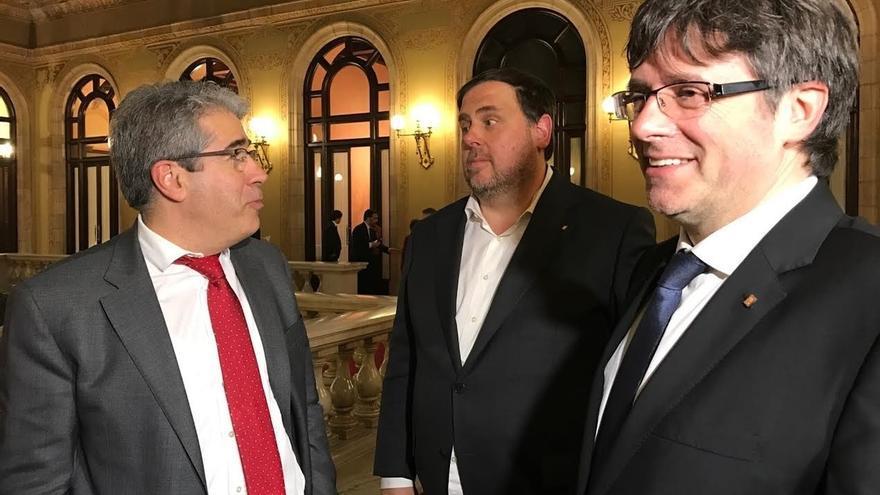 """Homs ve """"insólito"""" que se diga ahora que la Generalitat no estaba preparada para la independencia"""
