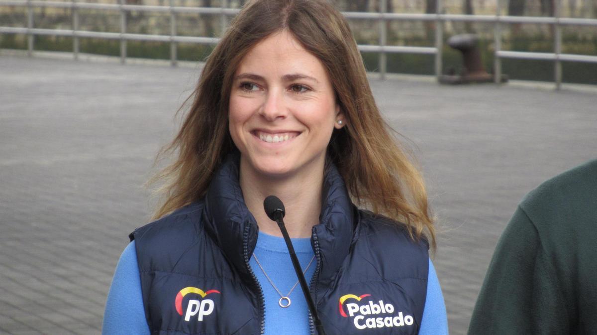 Beatriz Fanjul, diputada del PP vasco y nueva presidenta de Nuevas Generaciones.