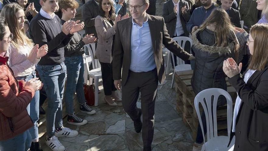 Feijóo repetirá mayoría absoluta en Galicia con 38/39 escaños, según La Razón