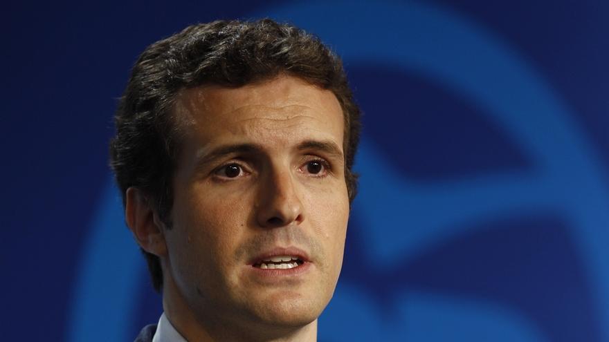 """Casado (PP) dice que Mas """"está al borde el ridículo"""" y su proceso secesionista a punto de """"descarrilar"""""""