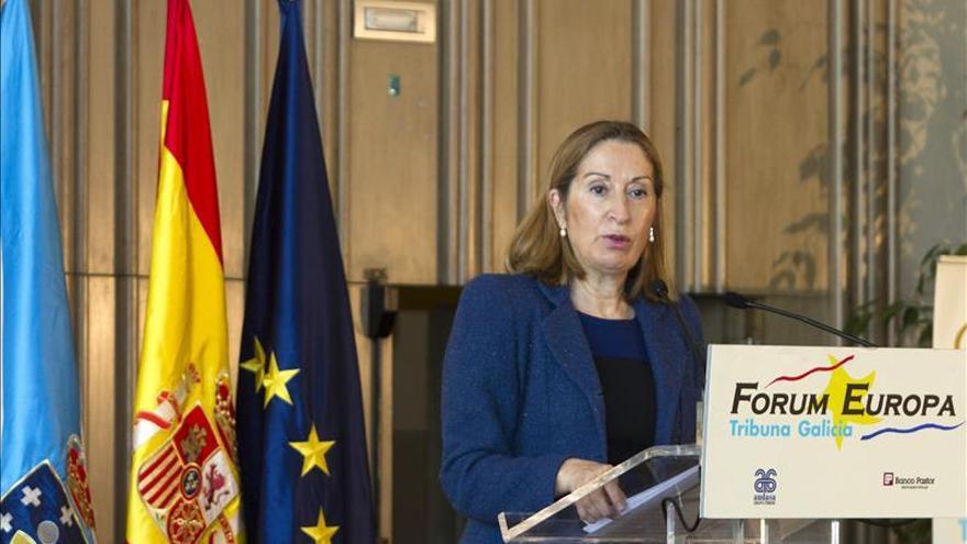 Ana Pastor supedita al interés privado proyecto de Mayne estación del AVE de Vigo