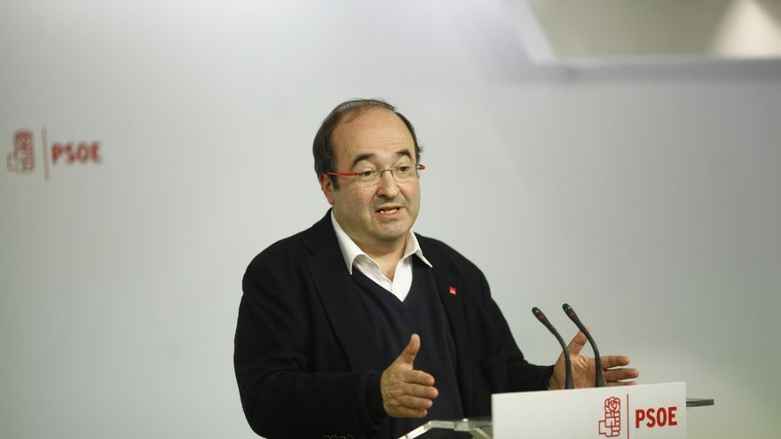 Iceta afirma que el PSOE debería rechazar los Presupuestos de Rajoy