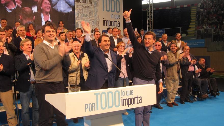 """Feijóo pide unidad y """"mayorías amplias"""" frente a PSOE, BNG y Podemos """"o como coño se llame en cada sitio"""""""