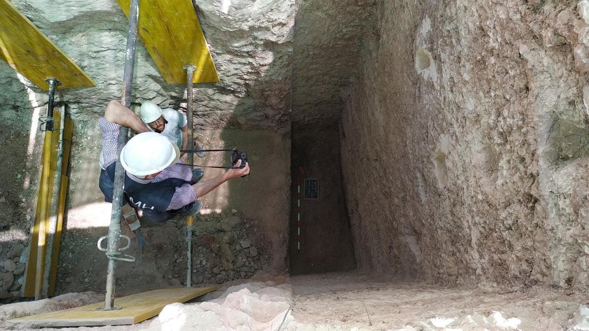 Exhumaciones en Manzanares