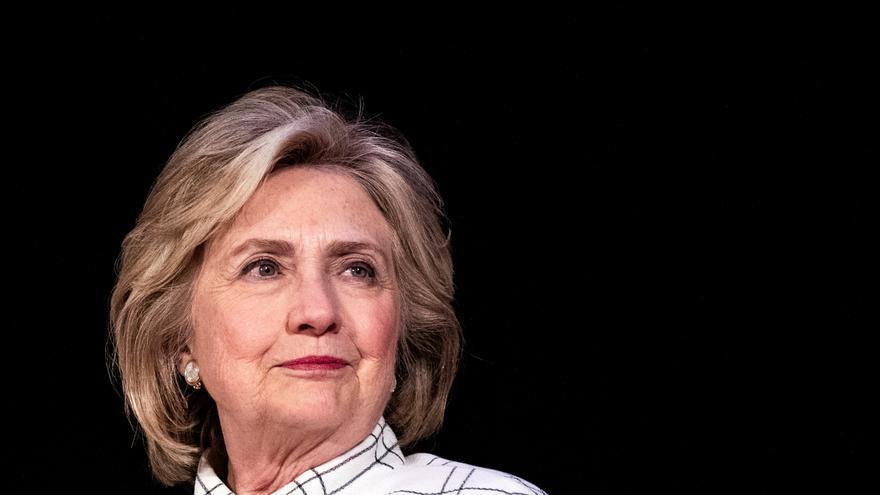 En la imagen, la exsecretaria de Estado de EEUU Hillary Clinton.