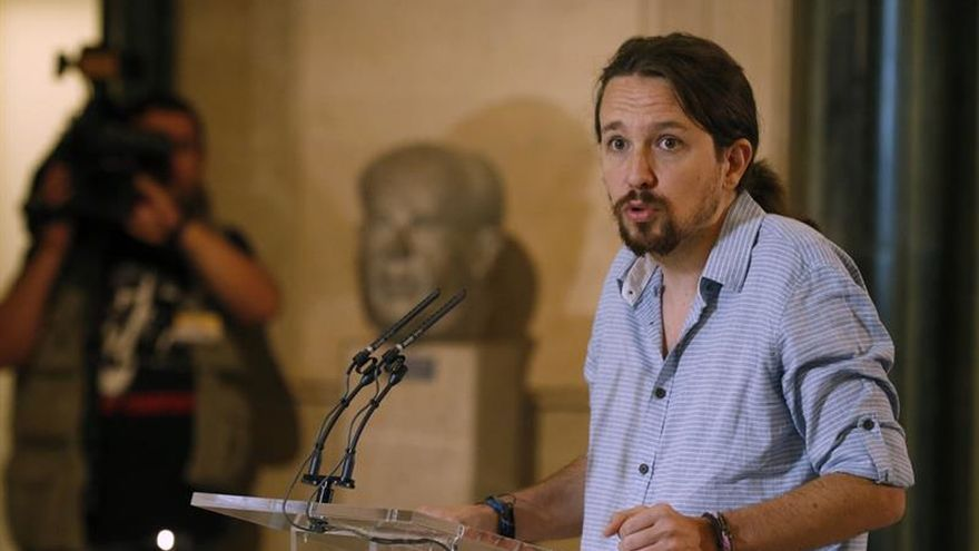 """Pablo Iglesias, sobre Carmena: """"Hemos demostrado muchísima flexibilidad"""""""