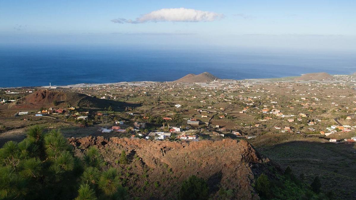 Volcanes del Valle de Aridane. EUROPA PRESS