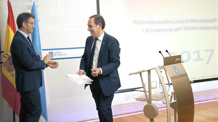 Feijóo: El sucesor del presidente Rajoy es Rajoy; lo veremos en febrero