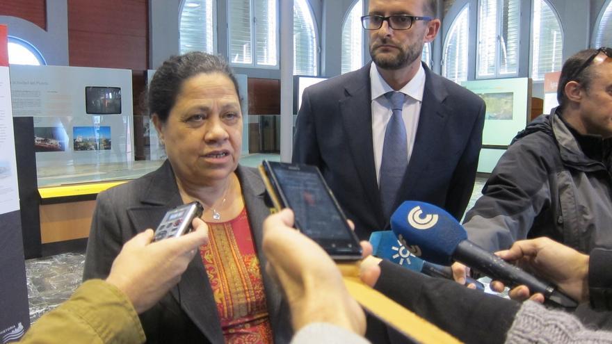 """La presidenta del puerto tras declarar: """"Salgo muy contenta porque no hay ningún tipo de delito"""""""