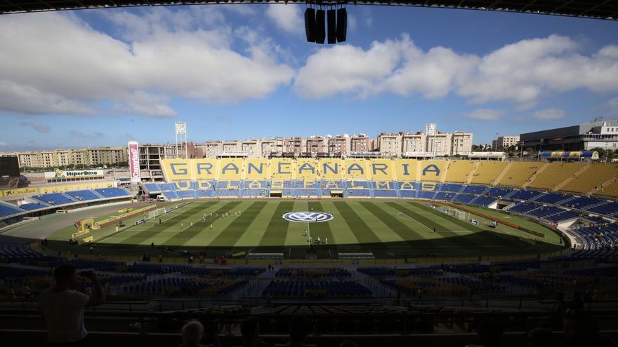 El Estadio Gran Canaria albergará unos 20.000 espectadores este sábado.