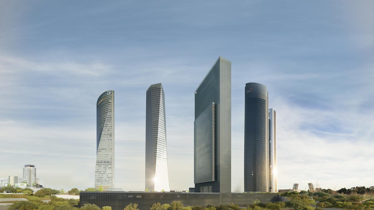 Vista de la nueva torre Caleido