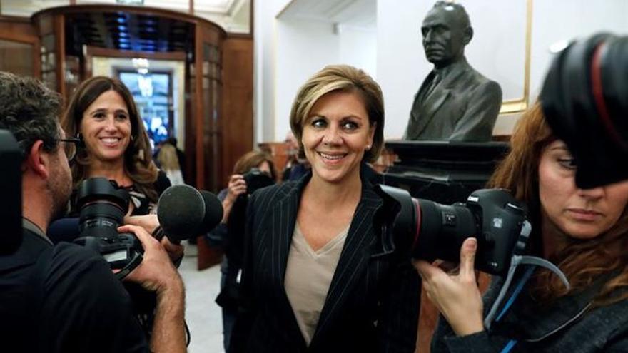 Dolores de Cospedal, ministra de Defensa