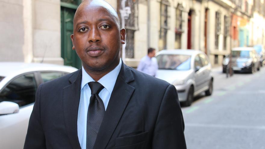 Richard Nimubona en Madrid | Amnistía Internacional