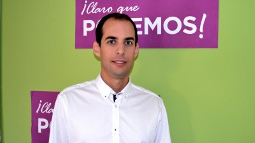 Miguel Montero, secretario general de Podemos en Las Palmas de Gran Canaria