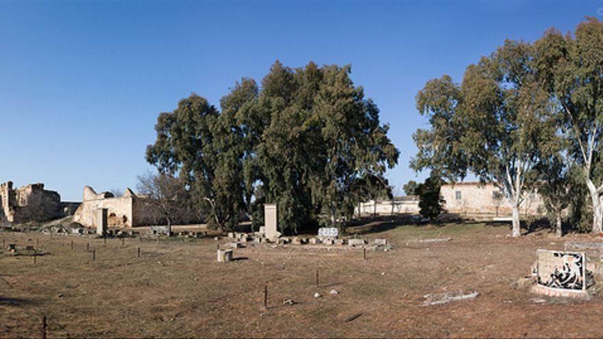 Palacio de la Sisla en 2012. Fotografía de David Utrilla para el proyecto Toledo Secreto (Toledo Olvidado)