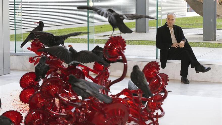 """La belleza siniestra de """"Carroña"""", de Javier Pérez, en el Bellas Artes de Bilbao"""