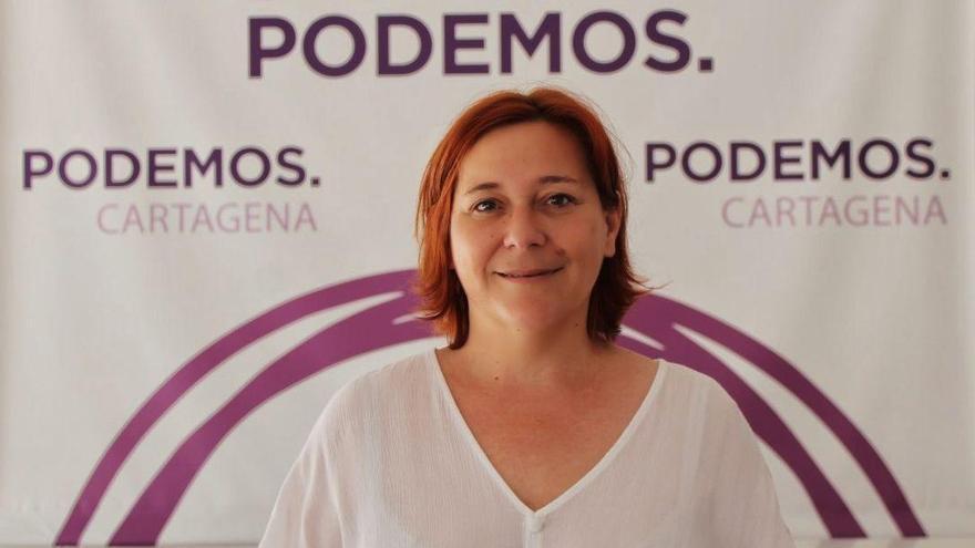 Leli García, concejala de Podemos en el Ayuntamiento de Cartagena