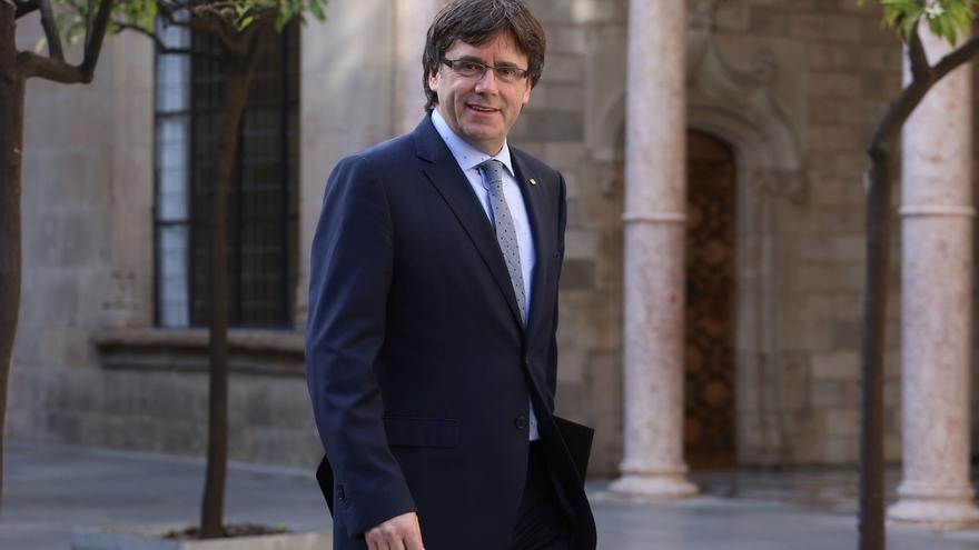 """Carles Puigdemont sobre el proceso soberanista: """"No daremos saltos al vacío"""""""