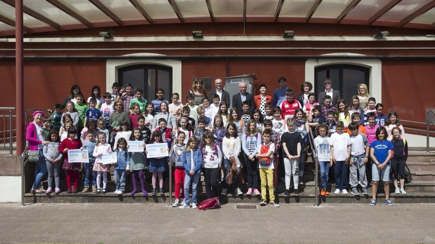 Un colegio de Castro Urdiales y otro de Hazas de Cesto ganan La Liga de Reciclaje