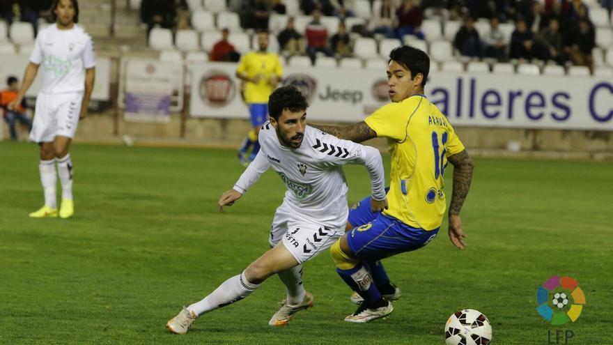 Derrota de la UD Las Palmas contra el Albacete. Foto: web udlaspalmas.es