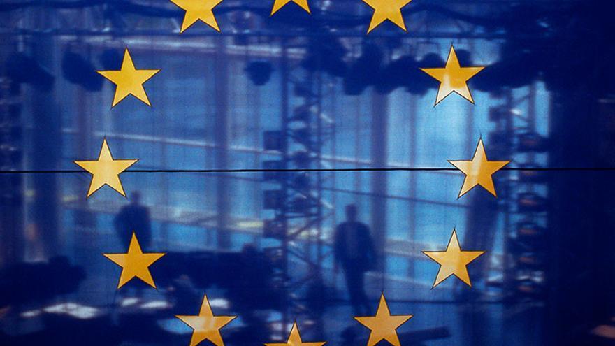 Imagen de archivo: bandera europea.