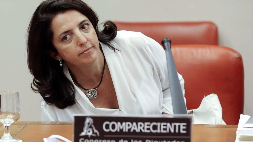 Rosana Navarro Heras, como secretaria general de Coordinación Autonómica y Local, comparece en el Congreso de los Diputados