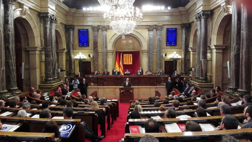 La Mesa del Parlament no ha decidido si presentara alegaciones a la suspensión de TC de la declaración independentista