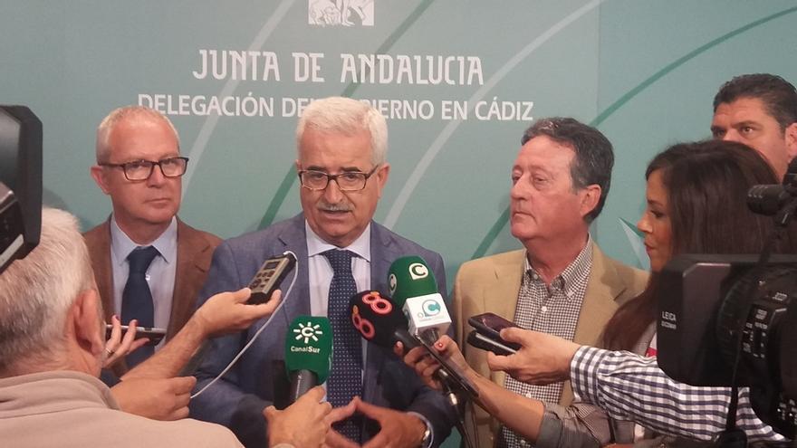 """El vicepresidente andaluz Jiménez Barrios dice que el adelanto electoral """"no está"""" en la cabeza de Susana Díaz"""