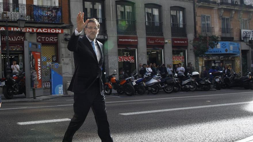 Rajoy viaja mañana a Pamplona y Zaragoza para firmar los acuerdos electorales con UPN y PAR