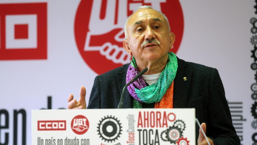 Archivo - El secretario general de UGT, Pepe Álvarez