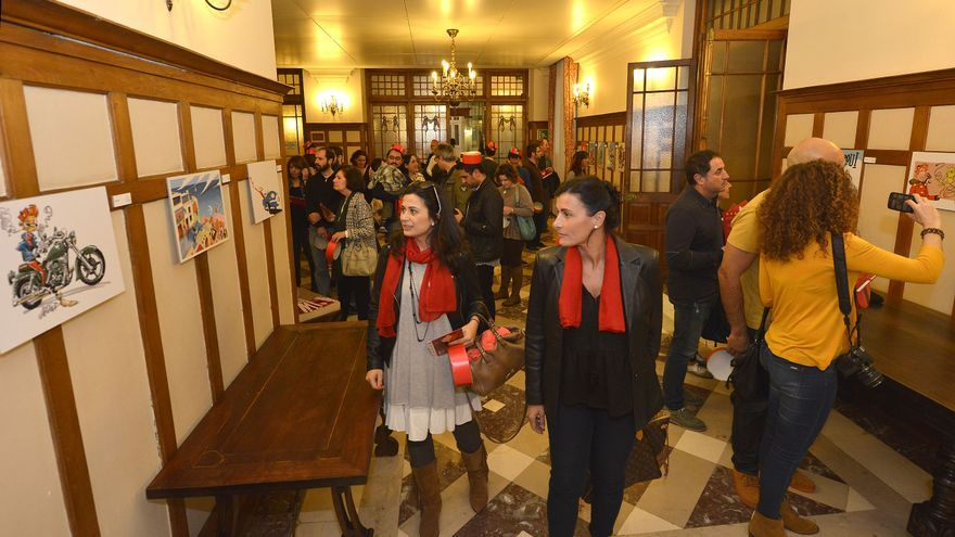 Las entradas para las visitas guiadas al Palacio de la Magdalena tienen un precio de 3 euros.