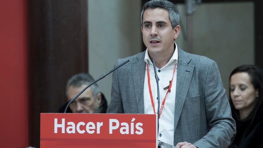 Pablo Zuloaga durante su intervención en el Comité Federal celebrado este sábado.