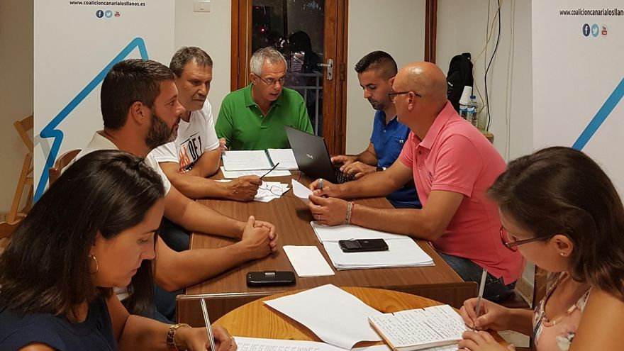 Grupo de CC  en el Ayuntamiento de Los Llanos de Aridane.