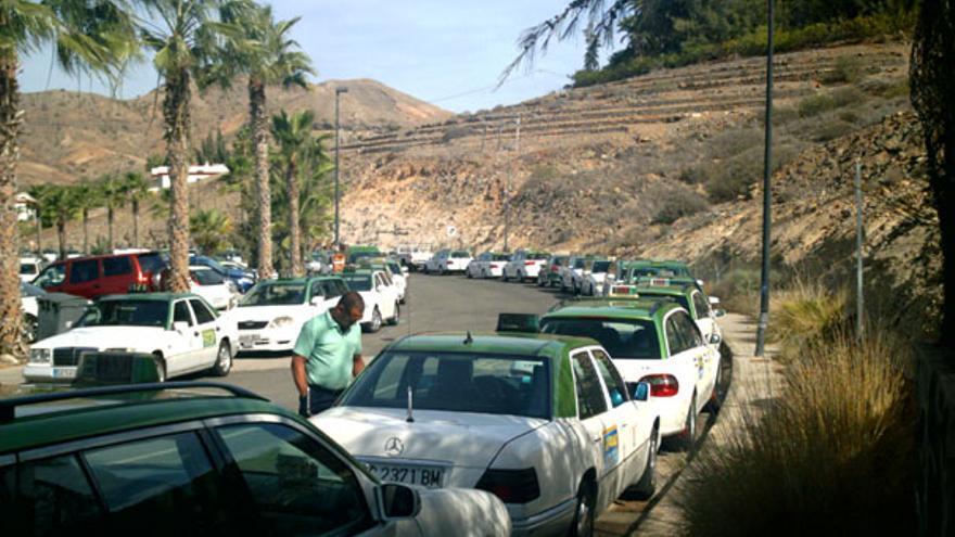 De los taxistas frente a Anfi #1