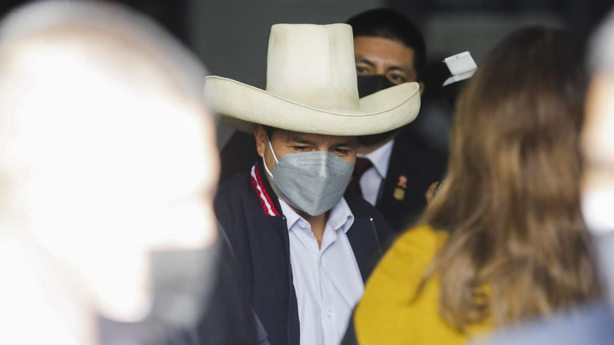 Castillo, presidente electo de Perú