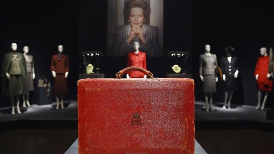 Subastan el maletín que usó Thatcher como primera ministra por 334.000 euros