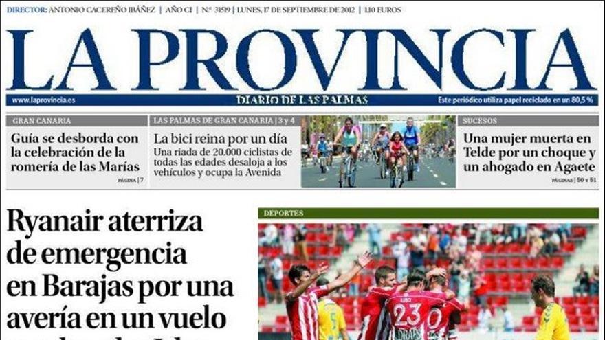 De las portadas del día (17/09/2012) #1