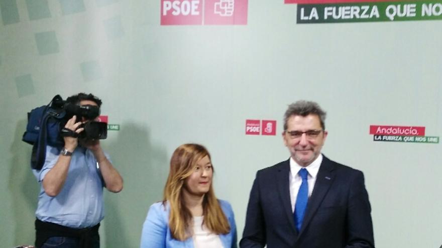 Verónica Pérez y Antonio Gutiérrez Limones