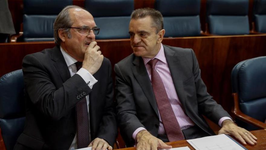 El PSOE-M reprocha a Garrido su falta de autocrítica ante la dimisión de Cifuentes